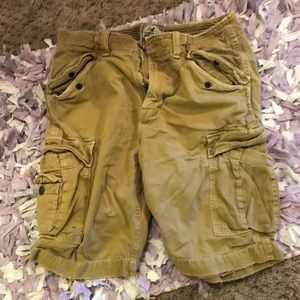 American Eagle Distressed Cargo Shorts Men size 32